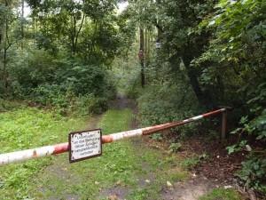 Zugang zum Noppenberg