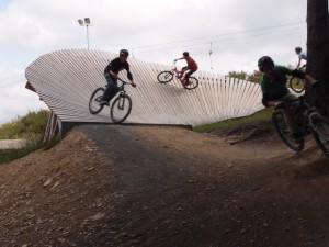Bikepark Abfahrt